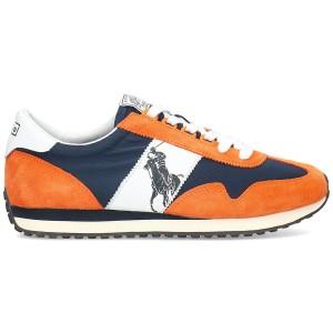 נעליים ראלף לורן  לגברים Ralph Lauren Polo  Train 90 - כתום