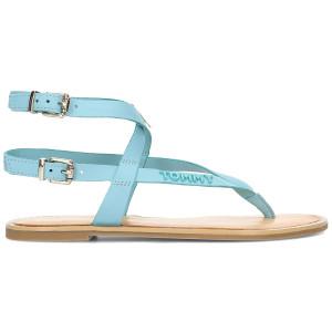 נעליים טומי הילפיגר לנשים Tommy Hilfiger  Iconic Flat Strappy - כחול