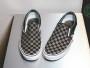 נעלי סניקרס ואנס לגברים Vans Classic Slip On - שחור/אפור