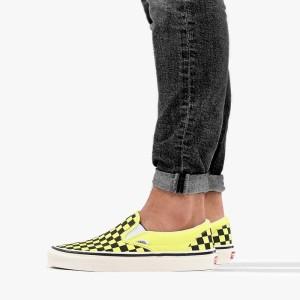 נעליים ואנס לנשים Vans Classic Slip On - צהוב