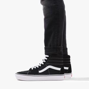 נעליים ואנס לנשים Vans ComfyCush Sk8-Hi - שחור/לבן
