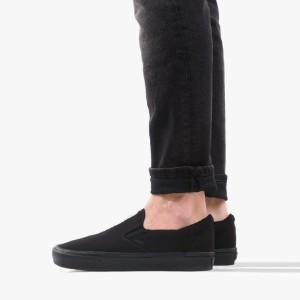 נעלי סניקרס ואנס לגברים Vans ComfyCush Slip-On - שחור