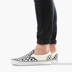 נעלי סניקרס ואנס לגברים Vans ComfyCush Slip-On - לבן