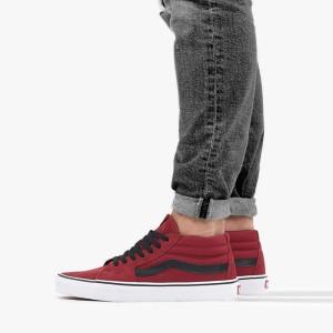 נעליים ואנס לנשים Vans SK8-Mid - בורדו