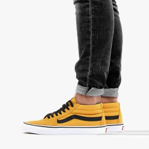 נעליים ואנס לנשים Vans SK8-Mid - צהוב
