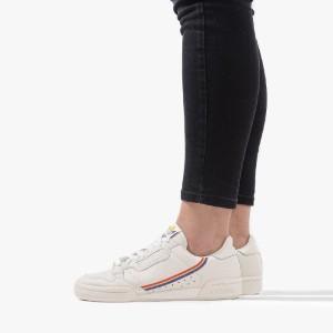 נעליים Adidas Originals לנשים Adidas Originals Continental 80 J - לבן  כחול  אדום