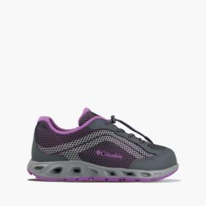 נעלי טיולים קולומביה לנשים Columbia Youth Drainmaker IV - אפור