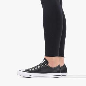 נעליים קונברס לנשים Converse Chuck Taylor All Star Slip - שחור מבריק