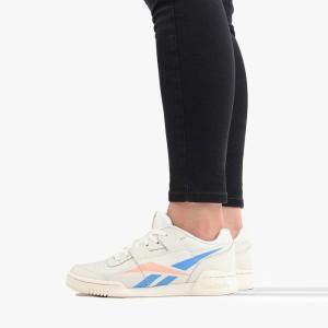 נעליים ריבוק לנשים Reebok Workout Low Plus - לבן/ כחול
