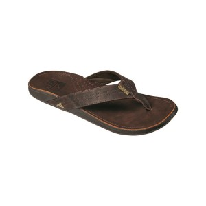 כפכפים ריף לגברים Reef  J-BAY III DARK BROWN  - חום