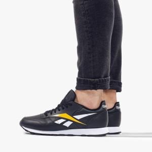 נעליים ריבוק לגברים Reebok Classic Leather Vector - שחור