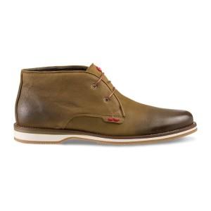 נעליים נו ברנד לגברים NOBRAND David 2 - ירוק זית