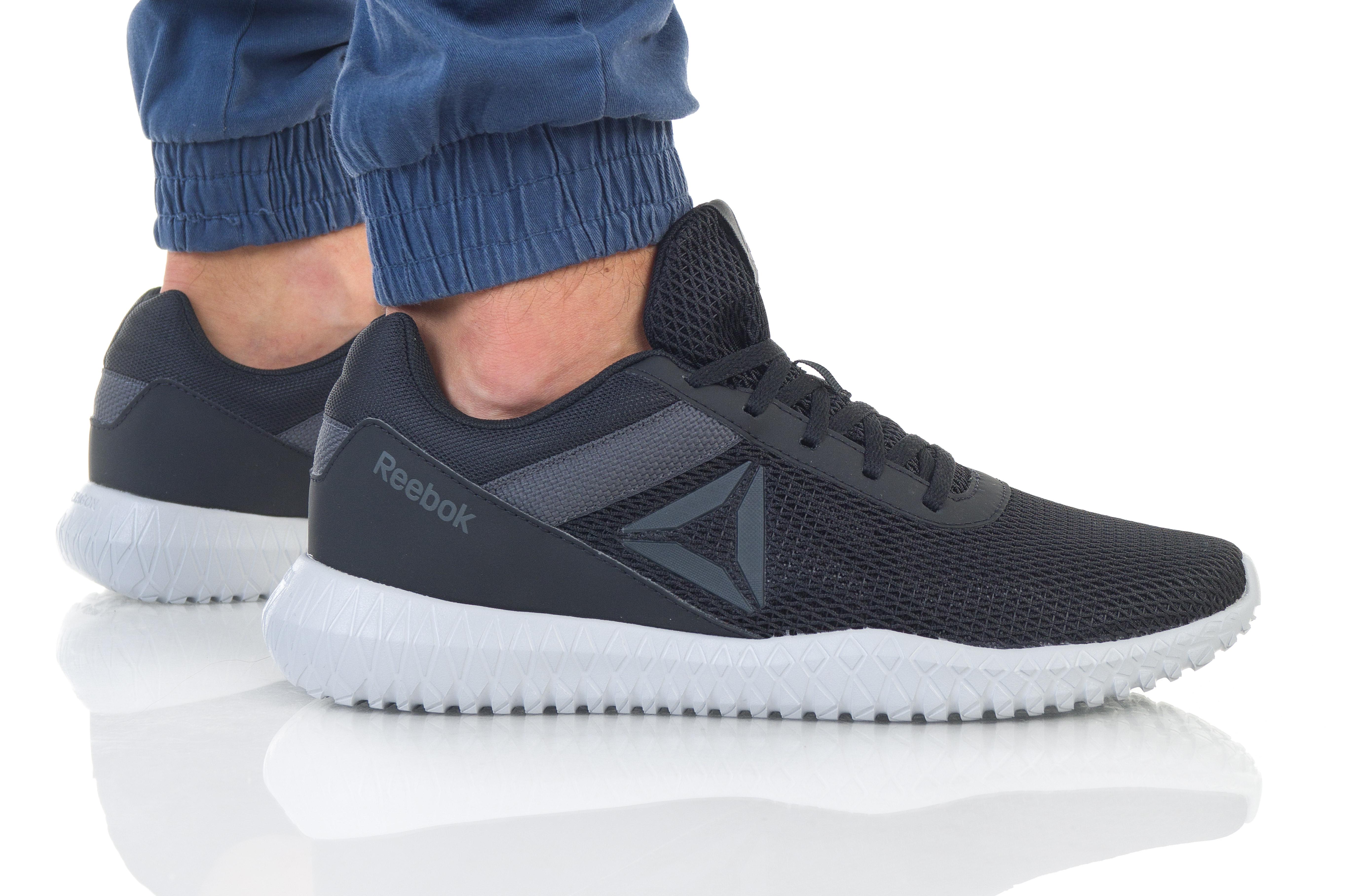 נעליים ריבוק לגברים Reebok Flexagon Energy TR - שחור מלא