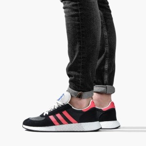 נעליים Adidas Originals לגברים Adidas Originals Marathon Tech - שחור/אדום