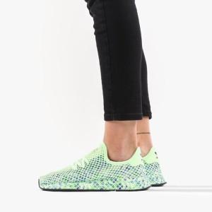 נעליים Adidas Originals לנשים Adidas Originals  Deerupt Runner - ירוק