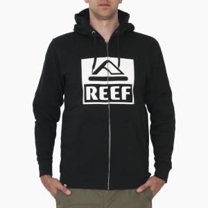 סווטשירט ריף לגברים Reef CLASSIC ZIP STA - שחור