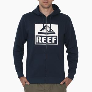 סווטשירט ריף לגברים Reef CLASSIC ZIP STA - כחול כהה