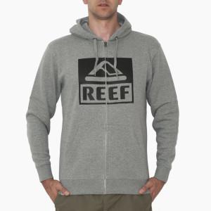 ביגוד ריף לגברים Reef CLASSIC ZIP STA - אפור