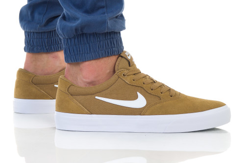 נעליים נייק לגברים Nike SB CHRON SLR - בז'
