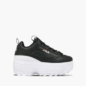 נעליים פילה לנשים Fila Disruptor II Wedge WMN - שחור/לבן