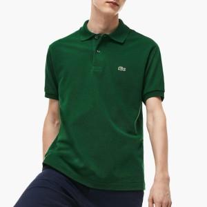 ביגוד לקוסט לגברים LACOSTE Erkek Polo Slim Fit - ירוק