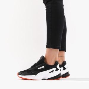 נעליים Adidas Originals לנשים Adidas Originals  x Fiorucci Falcon ZIp  - שחור/לבן