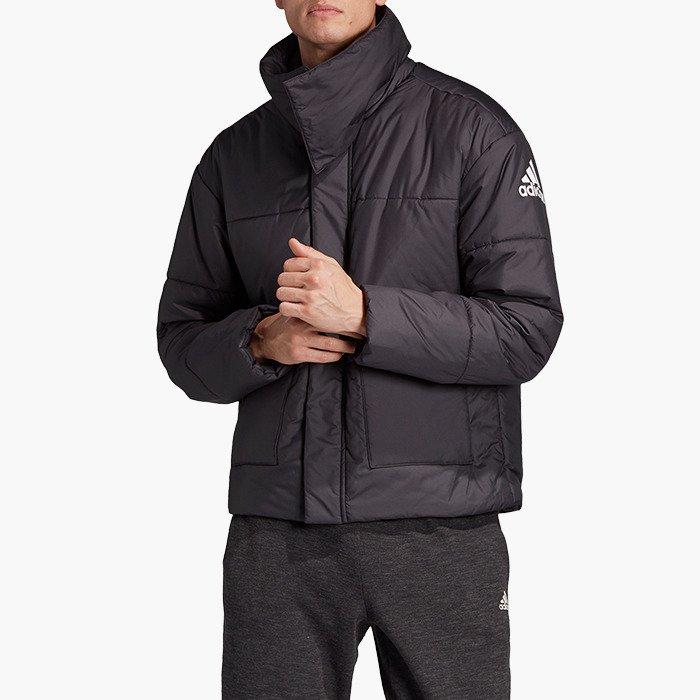 בגדי חורף אדידס לגברים Adidas Big Baffle Jacket - שחור