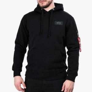 בגדי חורף אלפא אינדסטריז לגברים Alpha Industries 178317 03 - שחור