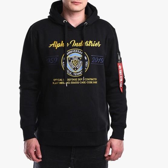 ביגוד אלפא אינדסטריז לגברים Alpha Industries 59-19 Hoody - שחור