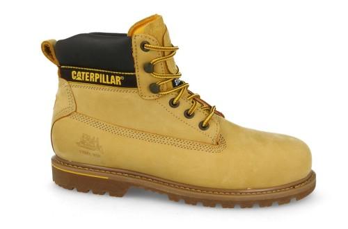 מגפיים קטרפילר לגברים Caterpillar Holton - צהוב