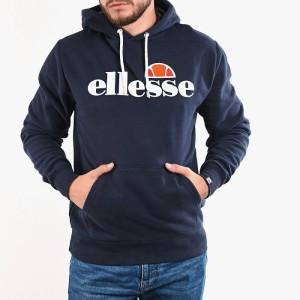 סווטשירט אלסה לגברים Ellesse Gottero OH - כחול