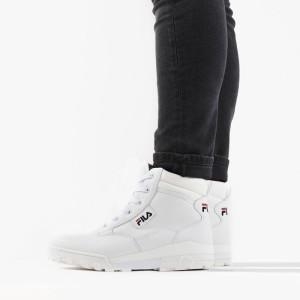נעליים פילה לגברים Fila Grunge II Mid - לבן