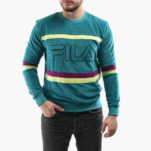 בגדי חורף פילה לגברים Fila Jace Striped - ירוק