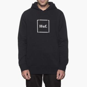 בגדי חורף HUF לגברים HUF PF00098BLACK - שחור