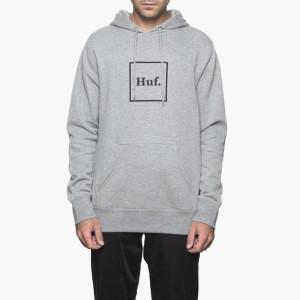 בגדי חורף HUF לגברים HUF PF00098BLACK - אפור