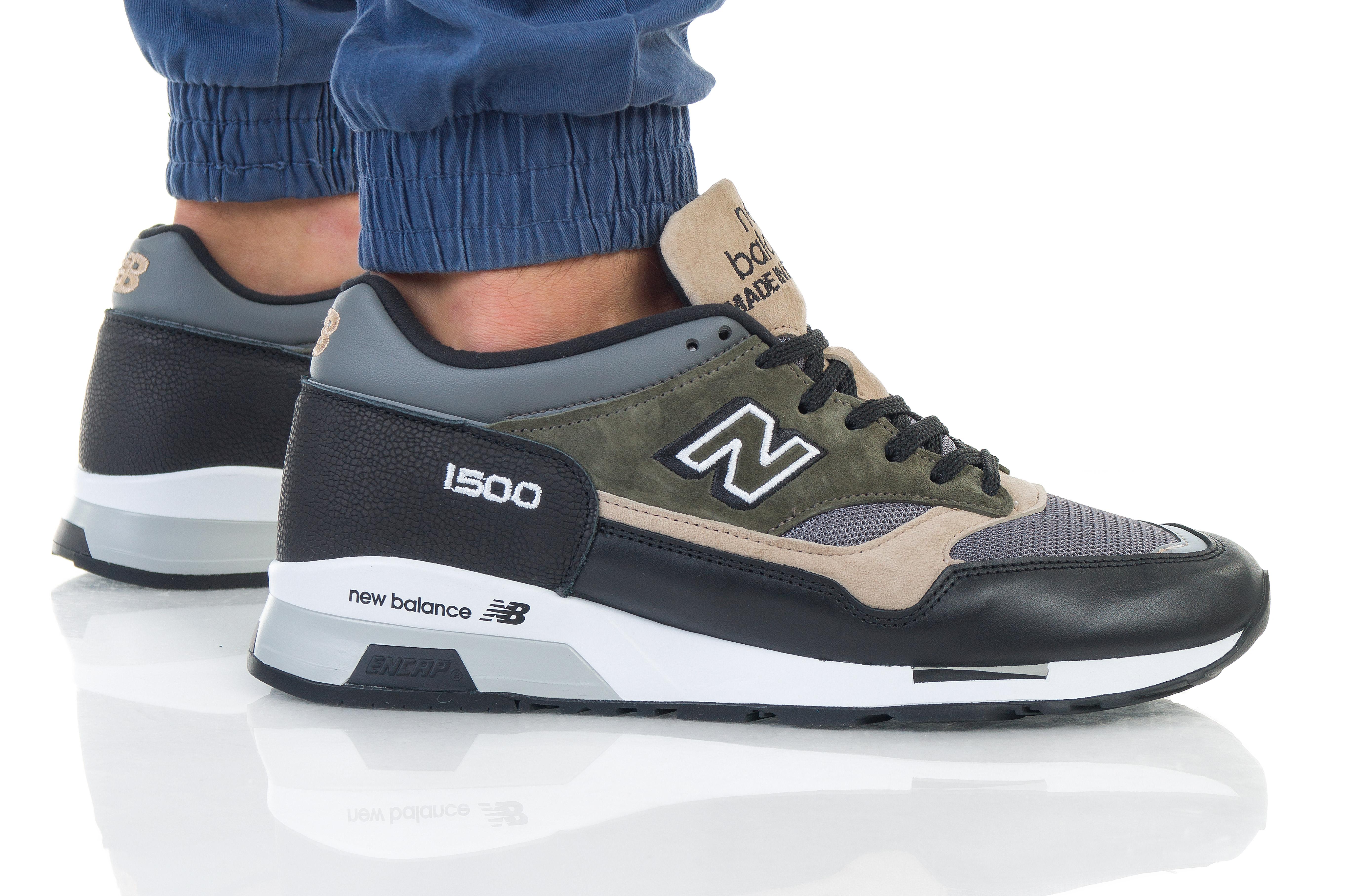 נעליים ניו באלאנס לגברים New Balance M1500 - ירוק