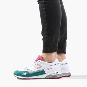נעליים ניו באלאנס לגברים New Balance  Made In UK Camo - לבן/ירוק