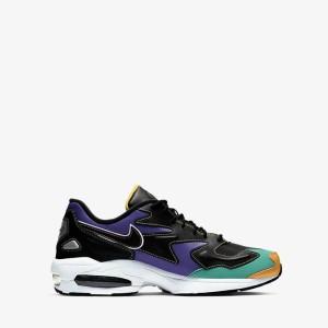 נעליים נייק לגברים Nike Air Max2 Light Premium - צבעוני כהה