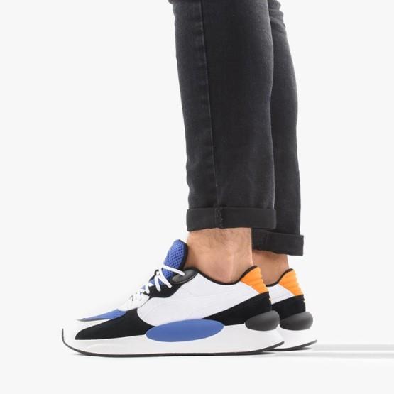 נעלי סניקרס פומה לגברים PUMA RS 9.8 COSMIC - לבן/כתום