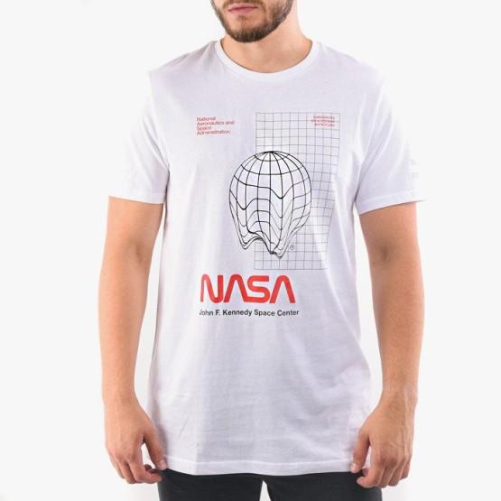 ביגוד פומה לגברים PUMA x Space Agency Tee NASA - לבן