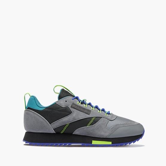 נעלי סניקרס ריבוק לגברים Reebok Classic Leather Ripple Trail - אפור
