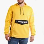 בגדי חורף ריבוק לגברים Reebok Classics Advanced Halfzip OTH - צהוב