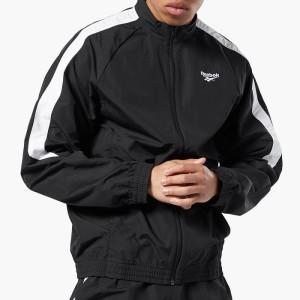 ביגוד ריבוק לגברים Reebok Classics Taped Track Jacket - שחור