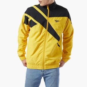 ביגוד ריבוק לגברים Reebok Classics Vector Track Jacket - צהוב