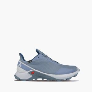 נעלי ריצת שטח סלומון לגברים Salomon Alphacross Gore-Tex GTX - כחול