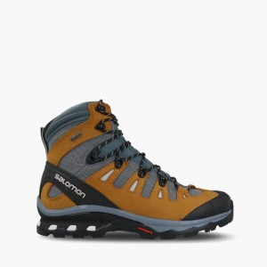 נעלי טיולים סלומון לגברים Salomon Quest 4D 3 Gore-Tex GTX - אפור/חום