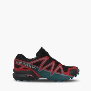 נעליים סלומון לגברים Salomon Speedcross 4 Gore-Tex GTX - שחור/אדום