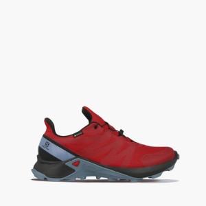 נעליים סלומון לגברים Salomon Supercross Gore-Tex GTX - אדום