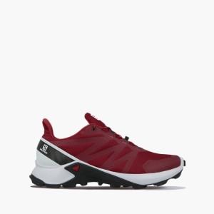 נעלי ריצת שטח סלומון לגברים Salomon Supercross - אדום
