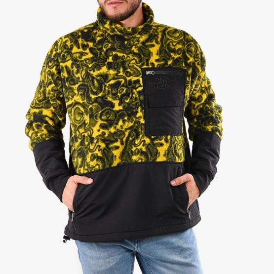 ביגוד דה נורת פיס לגברים The North Face 94 Rage Classic Fleece Pullover - צהוב